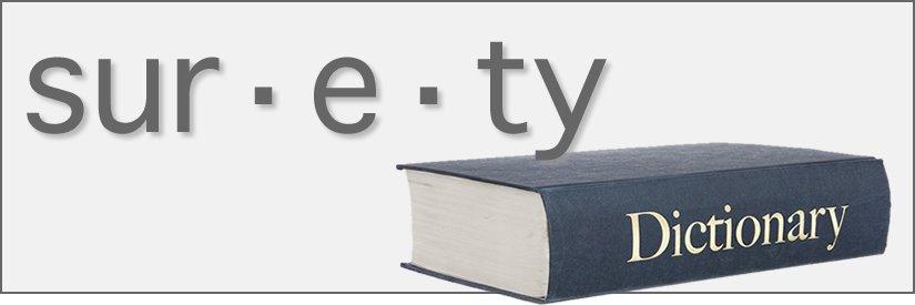 Surety Dictionary